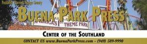 Buena Park Press Masthead